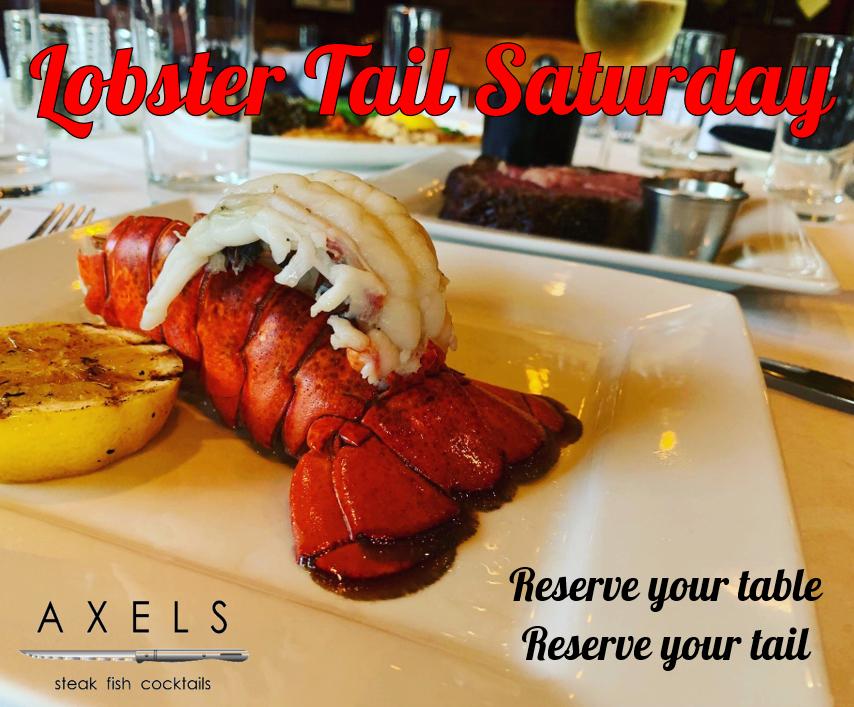 Lobster Tail Saturday