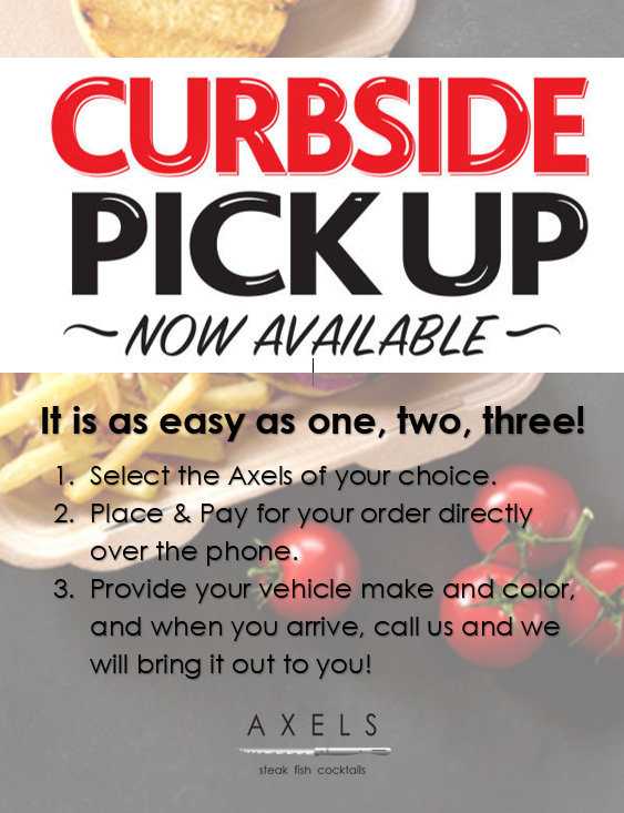 CURBSIDE TO-GO