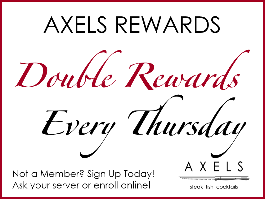 Double Rewards Every Thursday