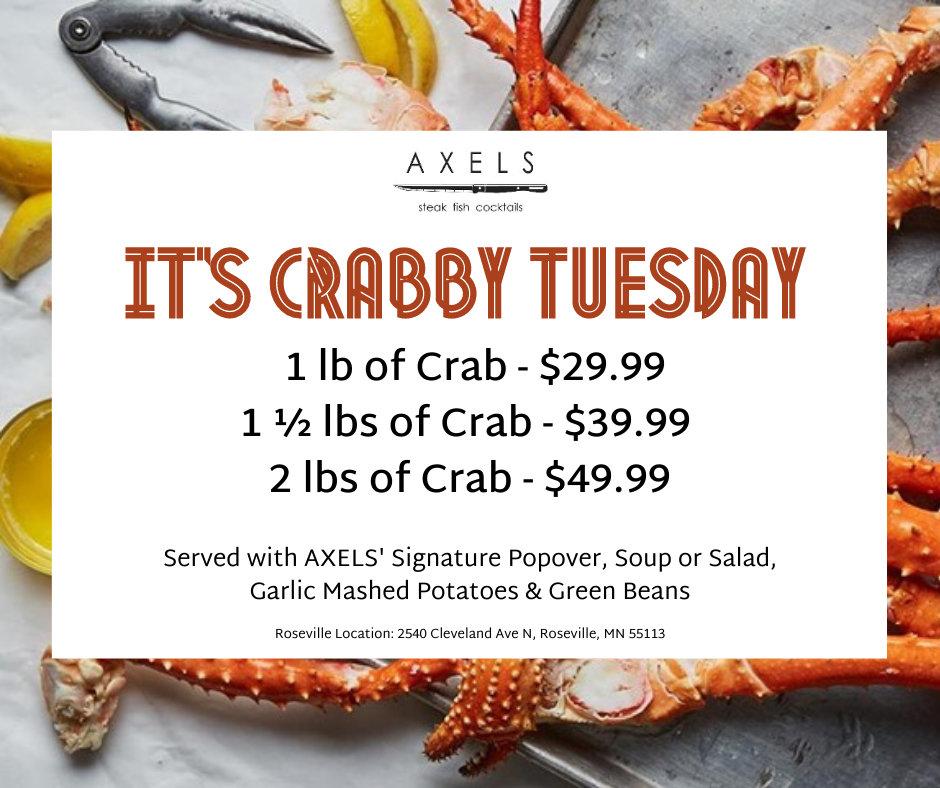 Crabby Tuesday